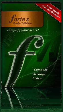 "FORTE 5 Basic - 简单制作配乐软件丨""反""斗限免"