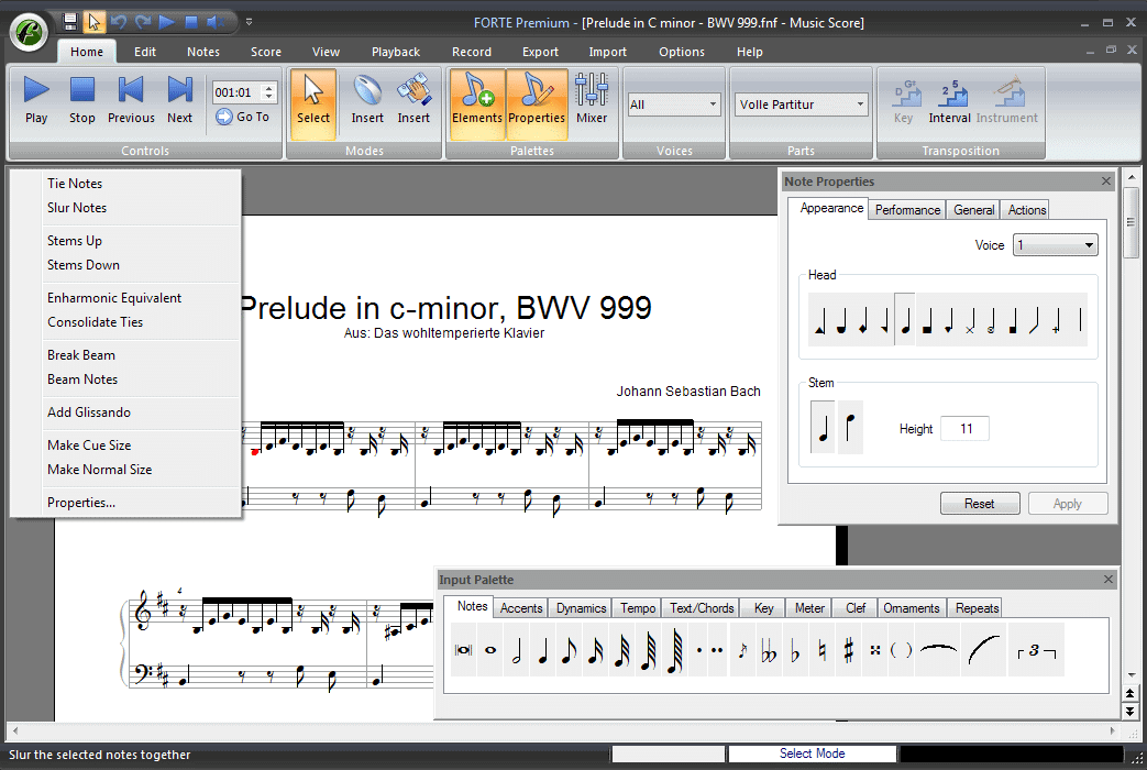Forte - Music Notation made Easy. Download your Free 30-Day-Trial!
