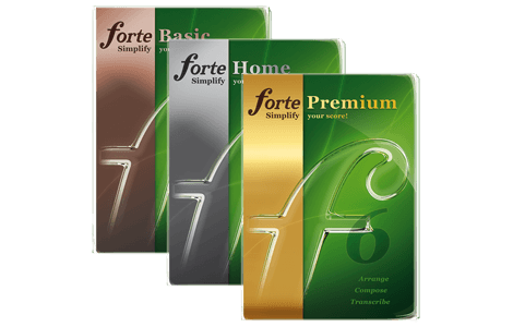 Music Notation Software FORTE – Music Writing & Composition