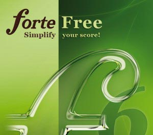 Free Music Notation Software FORTE
