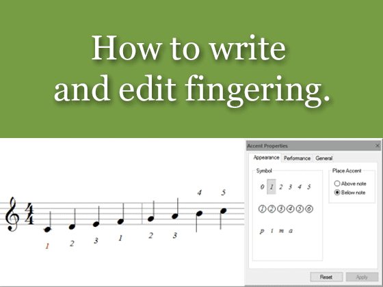 How to import and to transpose MusicXML files | FORTE Notation