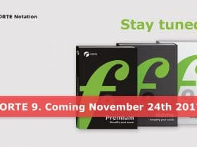 FORTE 9 is coming soon!