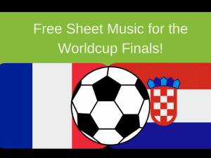Announcing free sheet music for the World Cup finals