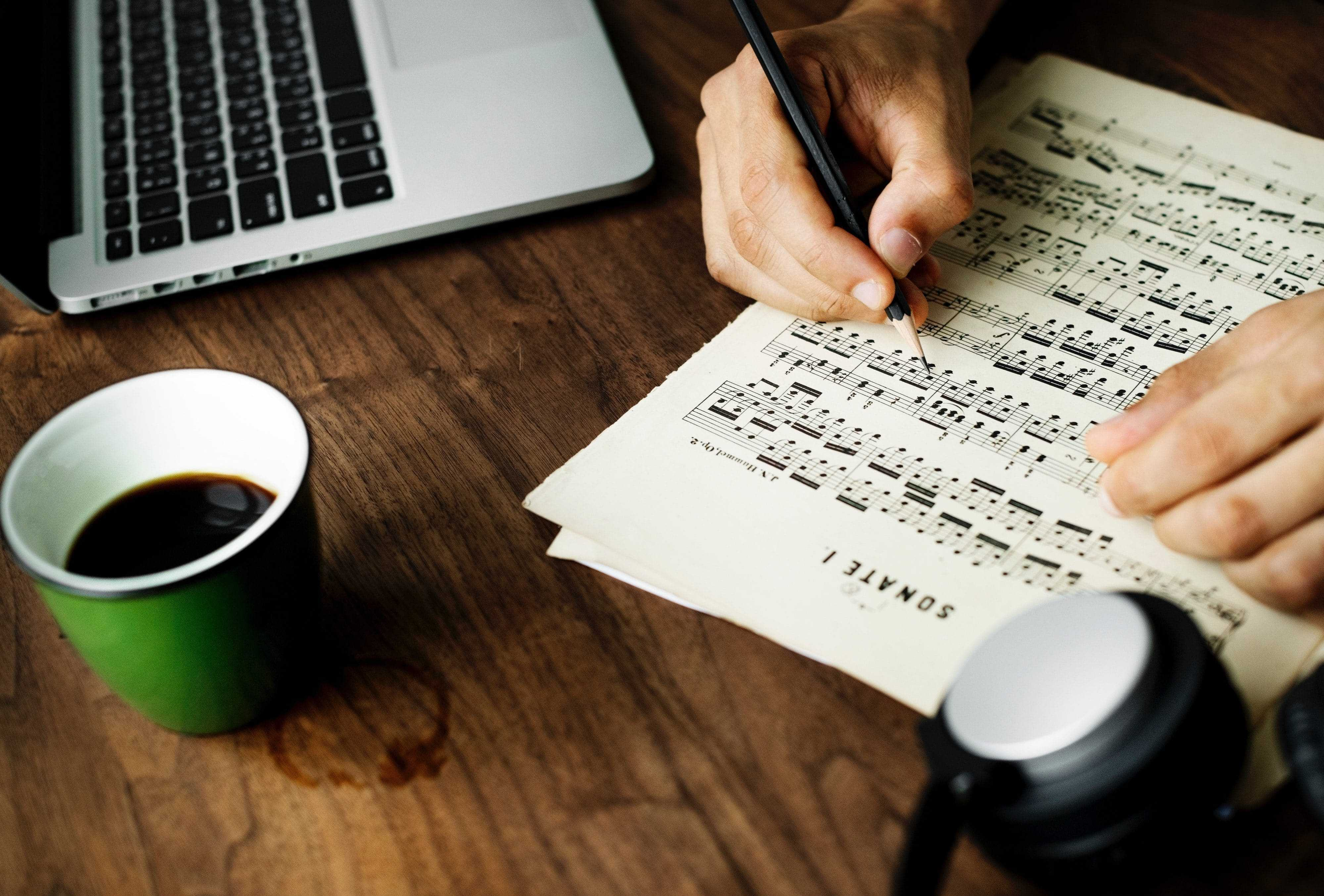 Composing and Arranging Sheet Music