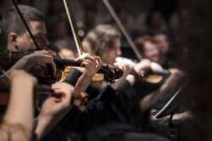 Playing classical music