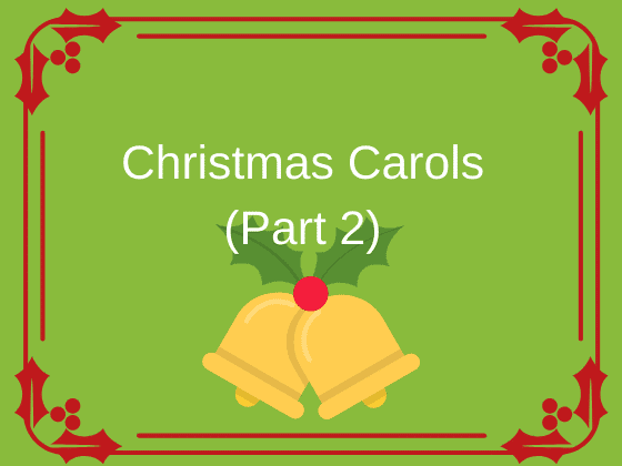 Part 2 of FORTE's free sheet music for Christmas carols